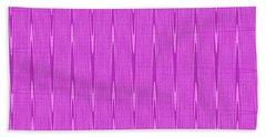 Purple Janca Abstract Panel #1151ew1abrp Beach Towel
