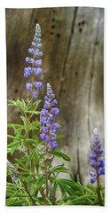 Purple Lupine Beach Sheet