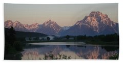 Purple Mountain Majesty  Beach Towel