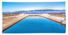 Purple Mountains Majesty Beach Towel