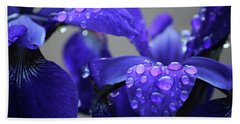 Purple Passion Beach Sheet by Rowana Ray