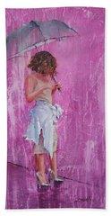 Purple Rain Beach Sheet