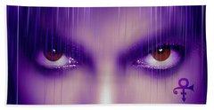 Purple Rain Purple Rain Beach Towel