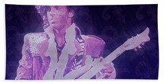 Purple Reign Beach Towel by Kenneth Armand Johnson