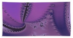 Purple Twilight Beach Towel