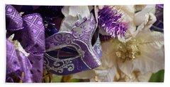 Purple Visions Beach Sheet