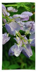 Beach Towel featuring the photograph Purple Wildflower by Tikvah's Hope