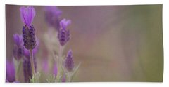 Beach Towel featuring the photograph Purple Wings by Jacqui Boonstra