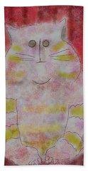 Pussy Cat Beach Towel