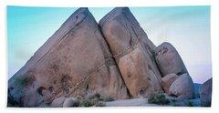 Pyramids At Live Oak Beach Towel