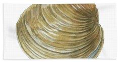 Quahog Shell Beach Towel