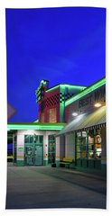 Beach Towel featuring the photograph Quaker Steak And Lube by Christopher McKenzie