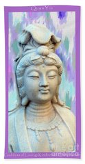 Quan Yin Goddess Beach Sheet