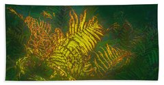 Quantum Fern.... Beach Towel