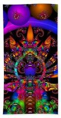 Beach Sheet featuring the digital art Quantum Physics by Robert Orinski