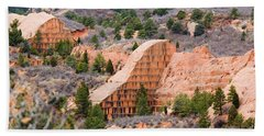 Quarry At Red Rock Canyon Colorado Springs Beach Towel