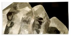 Quartz Crystal Cluster Beach Sheet