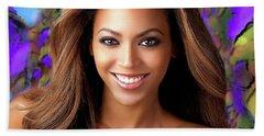 Queen Beyonce Beach Sheet