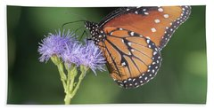Queen Butterfly 7474-101017-1cr Beach Towel