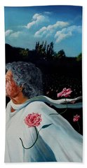 Queen Of Roses Beach Towel