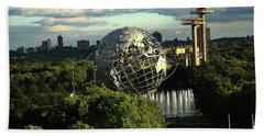 Queens New York City - Unisphere Beach Towel