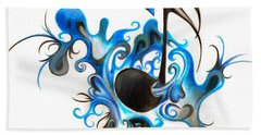 Quenched By Music Beach Towel