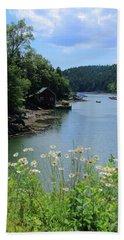 Quiet Cove 2 Beach Towel