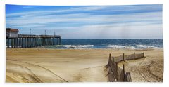 Quiet Day On The Beach Beach Sheet