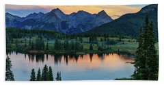 Beach Towel featuring the photograph Quiet In The San Juans by Rick Furmanek