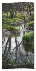Quiet Stream Beach Towel