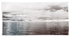 Beach Towel featuring the photograph Quiet Waters by Keith Elliott