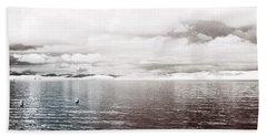 Quiet Waters Beach Towel by Keith Elliott