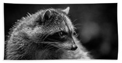 Raccoon 3 Beach Towel