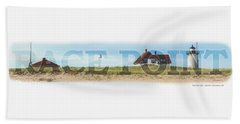 Race Point Light Beach Towel