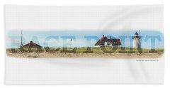 Race Point Light Beach Sheet