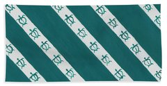 Race To The Sea Beach Towel by Darice Machel McGuire