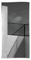 Beach Towel featuring the photograph Racquetball IIi  by Richard Rizzo