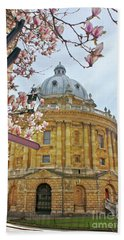 Radcliffe Camera Bodleian Library Oxford  Beach Sheet