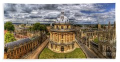Radcliffe Camera Panorama Beach Towel