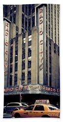 Radio City Beach Towel