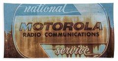 Radio Communications Beach Towel