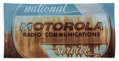 Radio Communications Beach Sheet