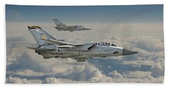 Raf Tornado Beach Towel