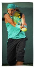 Rafael Nadal Beach Towel