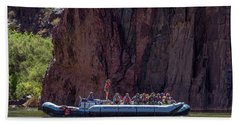 Rafters On The Colorado River, Grand Canyon Beach Towel