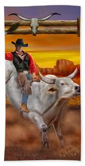 Ride 'em Cowboy Beach Towel