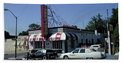 Beach Sheet featuring the photograph Raifords Disco Memphis A by Mark Czerniec