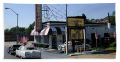 Beach Sheet featuring the photograph Raifords Disco Memphis B by Mark Czerniec