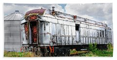 Rail Car Beach Towel