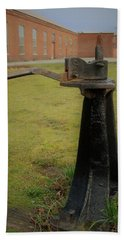 Rail Track Switch Beach Towel